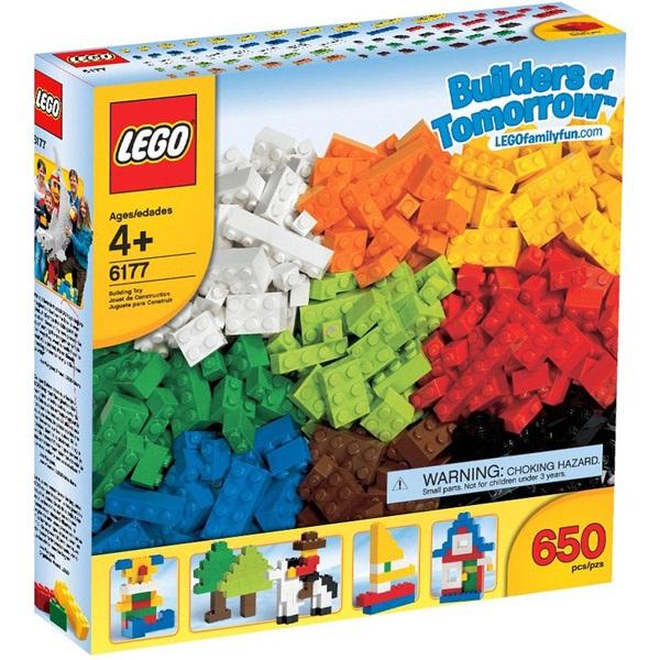 LEGO LEGO ELEMEK: LEGO deluxe alapelemek 6177