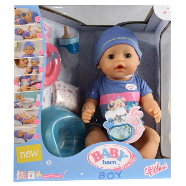 Zapf Creation Baby Born 8 Funkci 243 S Interakt 237 V Baba Fi 250