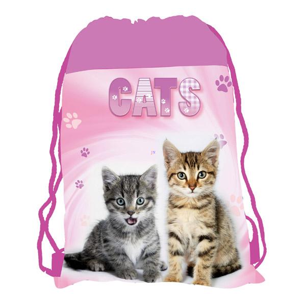 1fd30aa33ede Karton PP Cats cicás tornazsák – rózsaszín - Játék webáruház ...