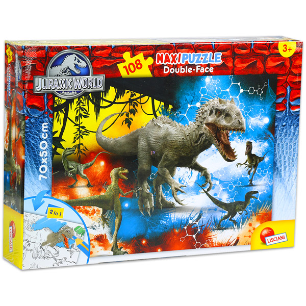 Lisciani Giochi Jurassic World 108 darabos színezhető maxi puzzle -  Indominus Rex ab9306483e
