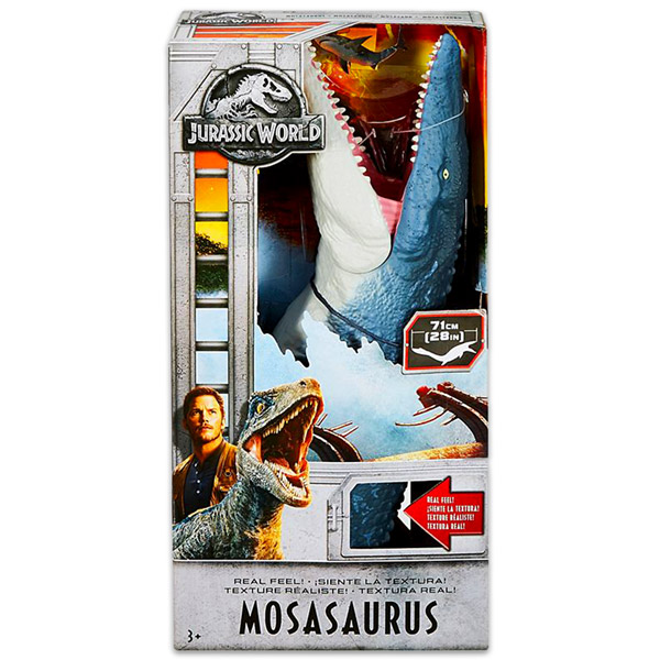 Mattel Jurassic World 2  Mosasaurus dinó figura valósághű érintéssel ... 3e1e54772b
