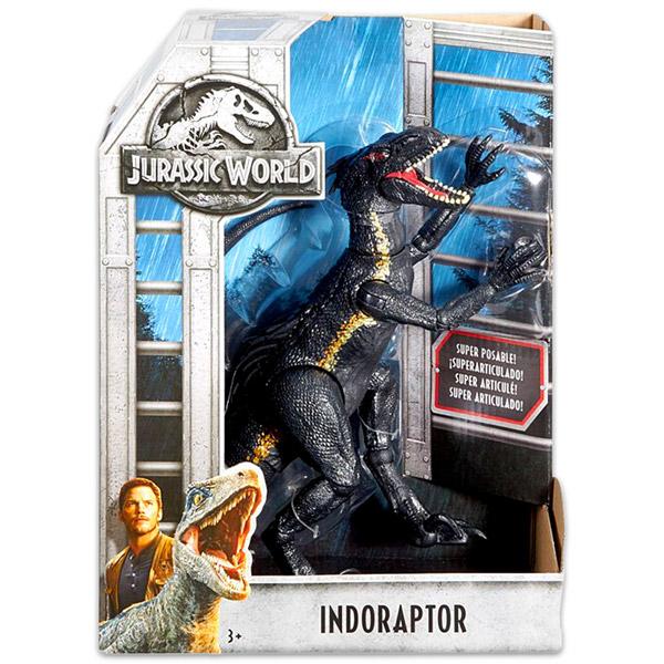 Mattel Jurassic World 2  szuper hajlékony Indoraptor - Játék ... 8485a2127d