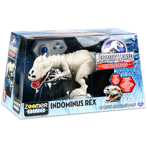 Spin Master Jurassic World Indominus Rex Zoomer Dino - Játék ... eae2741f62