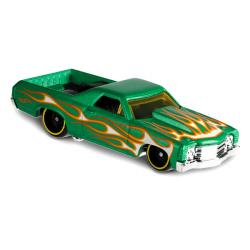 Mattel Hot Wheels Flames: 71 El Camino kisautó