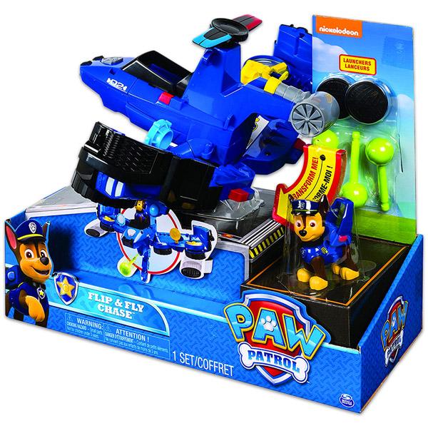 Spin Master Mancs őrjárat  Flip and Fly - Chase repülővé alakítható járműve  - Játék webáruház   online játék webshop - iWay Játékbolt 779d1c5d9e