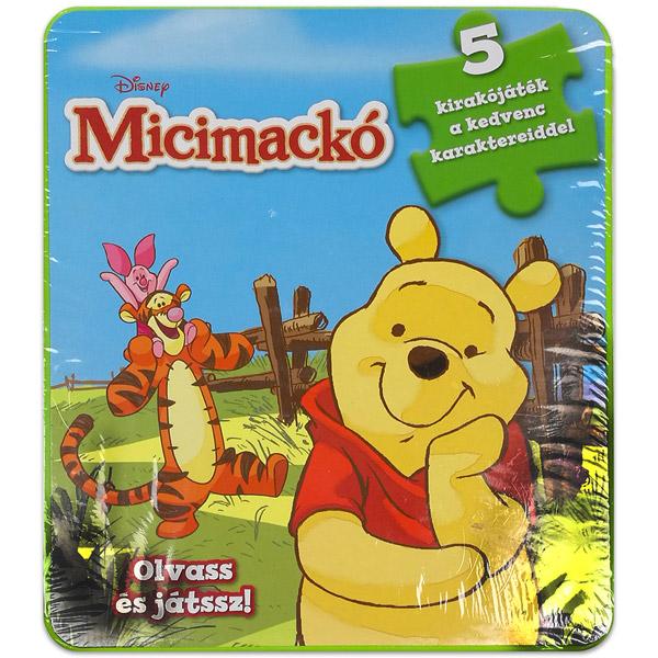 e6b5fab236 Libri Könyvkiadó Kft-BK Micimackó szivacsos kirakós könyv - Játék ...