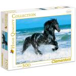 Modell-Hobby Clementoni: fekete ló 500 darabos puzzle