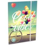 Lizzy Card Good Vibes Balloon gumis mappa - A4