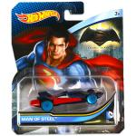 Mattel Hot Wheels DC karakter kisautók: Man of Steel