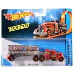 Mattel Hot Wheels City: Fuel and Fire kamion - piros