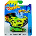 Mattel Hot Wheels City: színváltós 2008 Mitsubishi Lancer Evolution kisautó 2