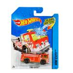 Mattel Hot Wheels City: színváltós Fire-Eater kisautó