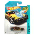 Mattel Hot Wheels City: színváltós Muscle Tone kisautó