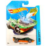 Mattel Hot Wheels City: színváltós Super Stinger kisautó