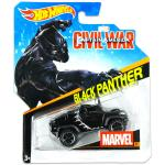 Mattel Hot Wheels Marvel karakter kisautók: Black Panther kisautó