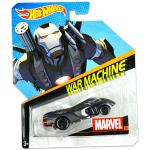 Mattel Hot Wheels Marvel karakter kisautók: War Machine kisautó