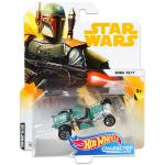 Mattel Hot Wheels: Star Wars karakter kisautók - Boba Fett
