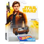 Mattel Hot Wheels: Star Wars karakter kisautók - Han Solo