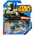 Mattel Hot Wheels: Star Wars kisautók - Boba Fett