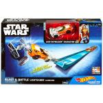 Mattel Hot Wheels Star Wars: Zsivány Egyes Luke Shywalker kisautó kilövővel