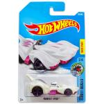 Mattel Hot Wheels Street Beasts: Purrfect Speed kisautó - fehér-lila