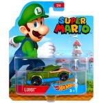 Mattel Hot Wheels Super Mario: Luigi kisautó