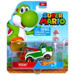 Mattel Hot Wheels Super Mario: Yoshi kisautó