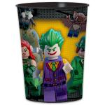 Amscan- SI Lego The Batman Movie: Műanyag pohár