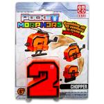 TM Toys Pocket Morphers: 2 helikopter figura