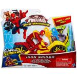 HASBRO Pókember: Web Warriors - Iron Spider jármű