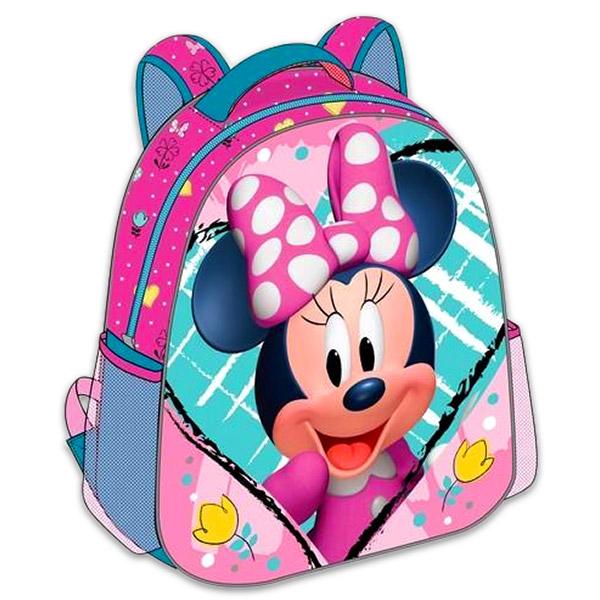 Diakakis Minnie egér: 3D ovis hátizsák Rózsaszín