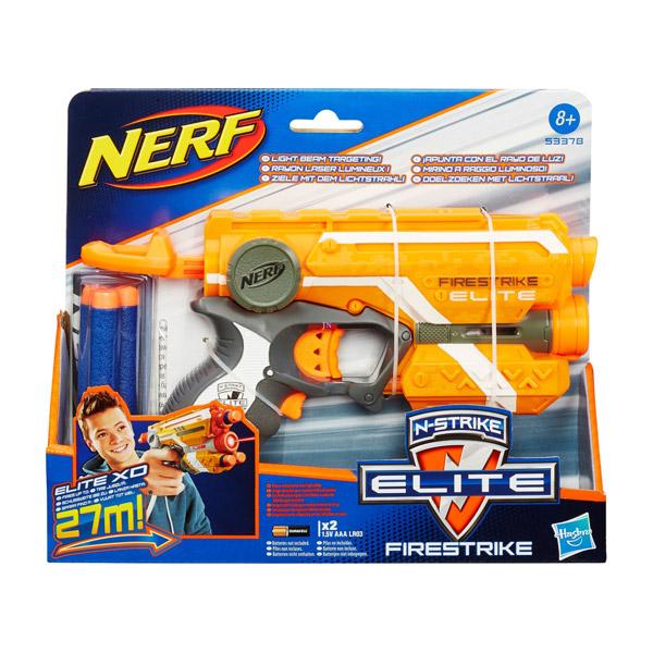 Hasbro NERF N-Strike Elite: Firestrike szivacslövő pisztoly - narancssárga