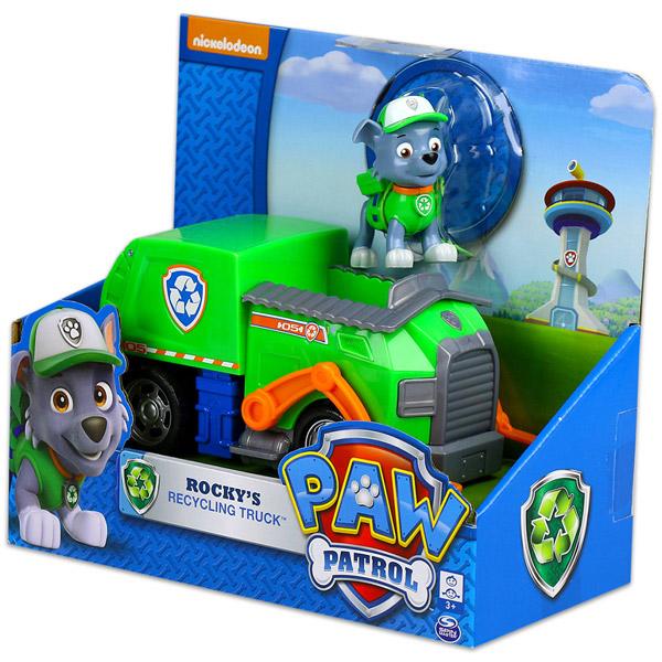 Spin Master Mancs őrjárat  Rocky és újrahasznosító járműve szett ... dba4b11adc