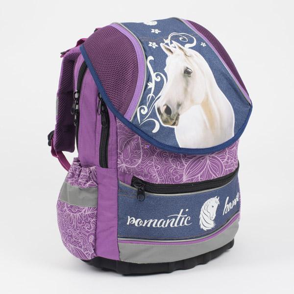 09625e2ce1d5 Karton PP Romantic Horse lovas anatómiai hátizsák – lila-kék - Játék ...