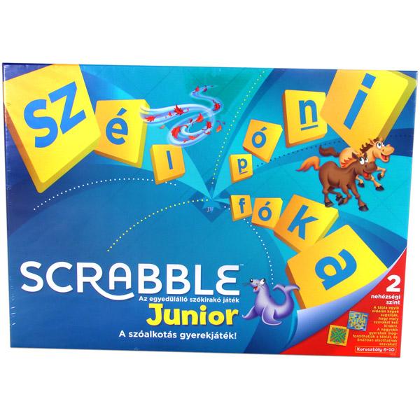 Mattel Scrabble Original Junior társasjáték