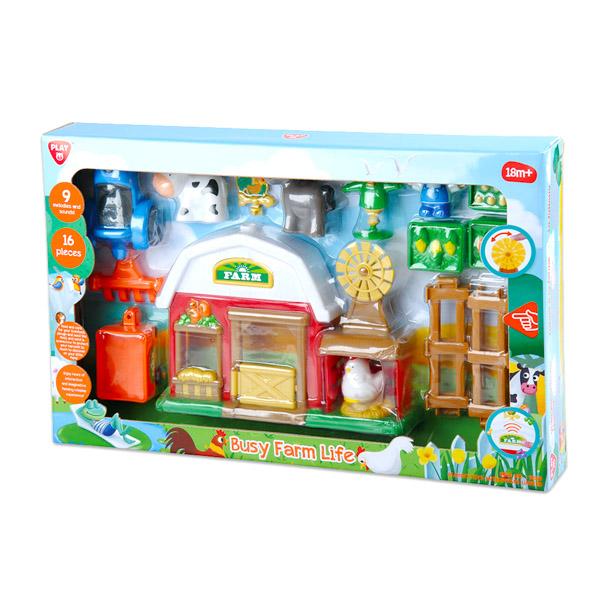 Playgo Hungary Kft. Vidám farm játékfigura készlet hanggal - 17 darabos - Játék  webáruház   online játék webshop - iWay Játékbolt b10680b3c3